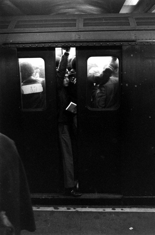 New York subway, 1969. Photo: Ralph Crane.