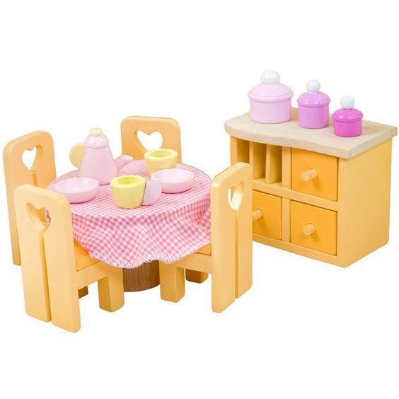 Comedor de madera Sugar Plum - Le Toy Van