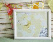 "Wish upon a Dandelion 8""X10"" giclee print of my original book collage/painting Avery Rayne Averyrayne Etsy"