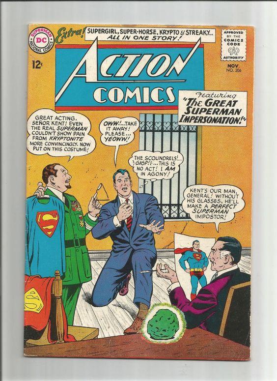 ACTION COMICS (v1) #306 Grade 7.0 Silver Age DC find! Guest starring Supergirl!!  http://www.ebay.com/itm/ACTION-COMICS-v1-306-Grade-7-0-Silver-Age-DC-find-Guest-starring-Supergirl-/291510176944?roken=cUgayN&soutkn=Q3EJmF