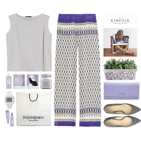 Roma by pacificpeach on Polyvore featuring MANGO, Alberta Ferretti, Givenchy, adidas, Laura Mercier, Sachajuan and Yves Saint Laurent