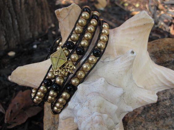 Kappa Alpha Theta wrap bracelet  www.facebook.com/simplylinked