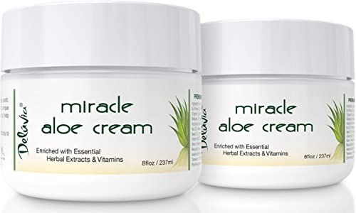New Miracle Aloe Vera Moisturizing Cream Face And Body Moisturizer Lotion Day And Night Hydrating Soothing Skin C In 2020 Soothing Skin Moisturizer Cream Dry Skin Care