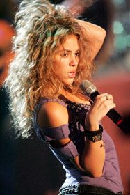 "Nominiert in der Kategorie ""Künstlerin International Rock/Pop"": Shakira (Foto: Public Address)"