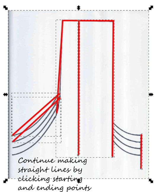Drawing Lines With Inkscape : Drawing lines and curves in inkscape cutfiles templates