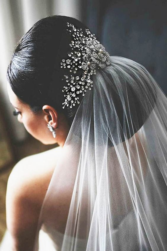 30 Pinterest Wedding Hairstyles For Your Unforgettable Wedding ❤ See more: http://www.weddingforward.com/pinterest-wedding-hairstyles/ #wedding