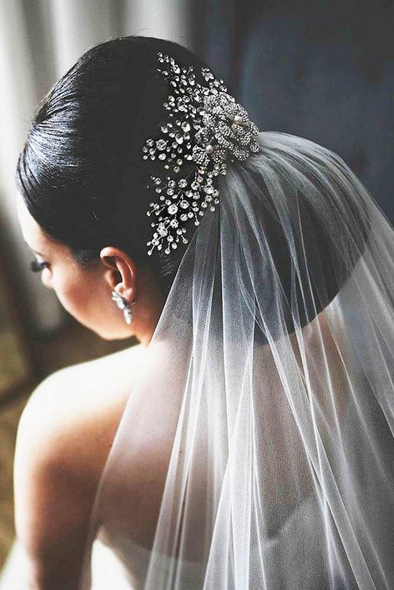 30 Pinterest Wedding Hairstyles For Your Unforgettable Wedding ❤ See more: http://www.weddingforward.com/pinterest-wedding-hairstyles/ #wedding