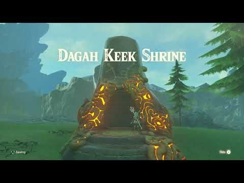 Zelda Breath Of The Wild Ceremonial Song Quest Dagah Keek