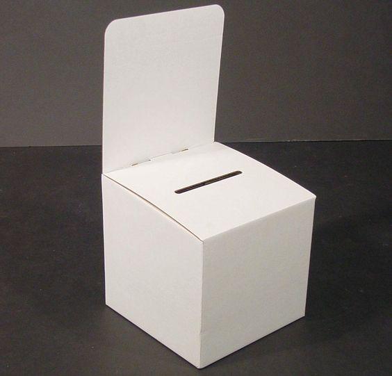 My Charity Boxes - Pack of 10 - Medium Cardboard Box - Ba Lead