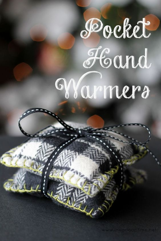 DIY pocket hand warmers on iheartnaptime.com ...these would make a great handmade gift!:
