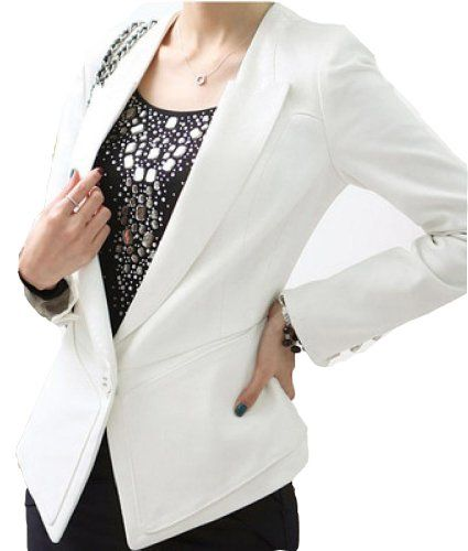 Career Womens Bright Color Coats One Button Suit Blazer Turn Back Cuff Jackets Fengbay,http://www.amazon.com/dp/B00GN5OZ5M/ref=cm_sw_r_pi_dp_Irk2sb0BF7YV7C83