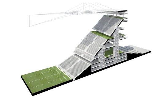Gallery Of Concept Stadium Dca 2 Stadium Architecture Stadium Design Concept Architecture