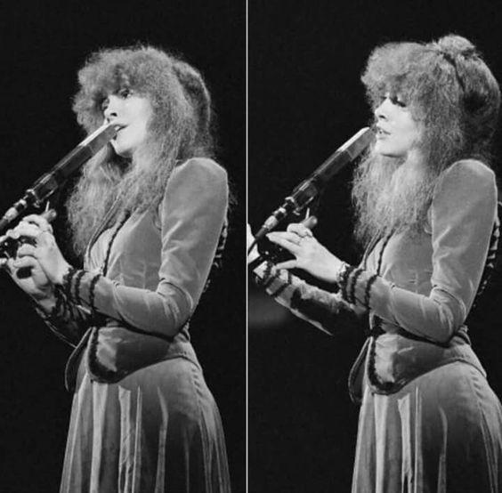 Stevie Nicks During Fleetwood Mac Tusk Tour