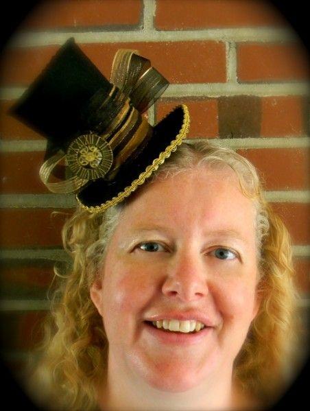 Cute steampunk mini hat