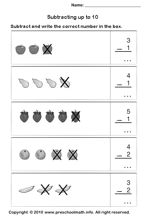 Kindergarten, Math and Kindergarten math worksheets on Pinterest