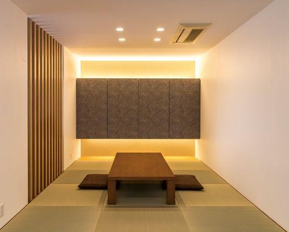 和室 注文住宅 間接照明 indirect lighting アキュラホーム