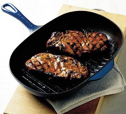 Mustard & rosemary pork chops - BBQ