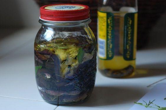 Eggplant in a Jar on Food52
