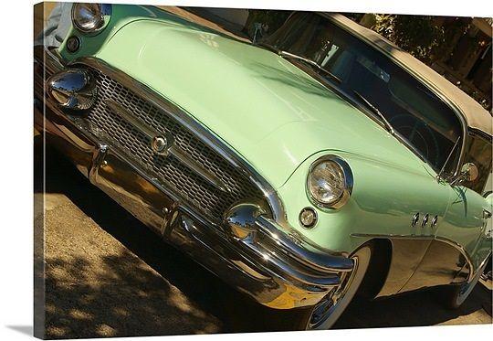 Close-up of a vintage car