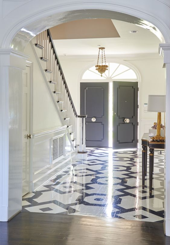 Magical Transitional Foyer
