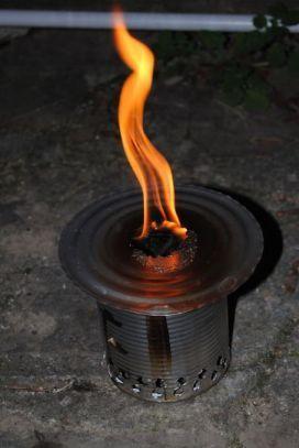 Bruciatore a pirolisi