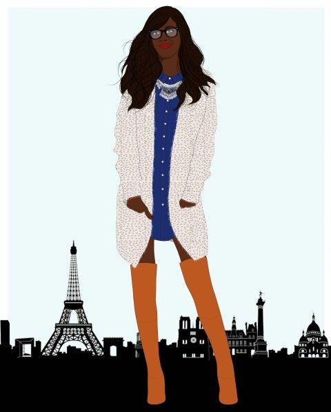 Fashion blogger www.dressingderosie.com