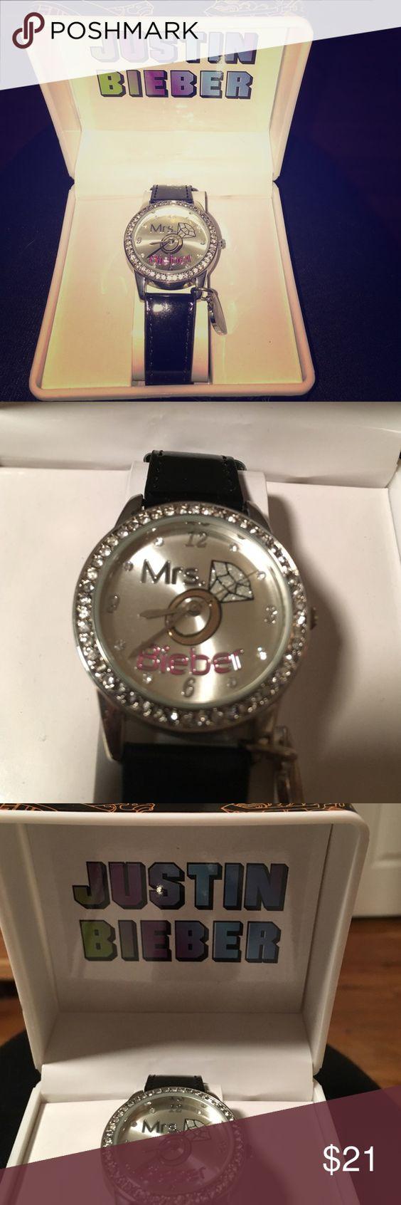 "Justin Bieber ""Mrs. Bieber"" watch ! BRAND NEW Never worn Justin Bieber watch ! justin bieber Accessories Watches"
