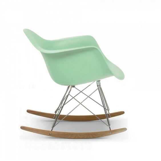 Ciel Eames Style Rocking Chair (£357) ❤ liked on Polyvore featuring home, furniture, chairs, accent chairs, wooden arm chair, wood arm chair, wood armchair, wooden rocking chairs and wooden furniture