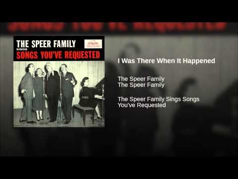 I Was There When It Happened - YouTube