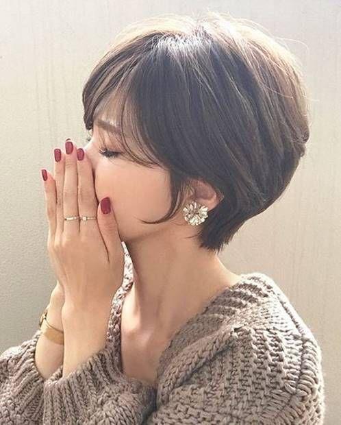 احدث 15 قصات شعر قصير مدرج فرنسي للوجه الدائري و البيضاوي The Latest 15 Short French Ha Popular Short Haircuts Cool Short Hairstyles Short Hair Styles