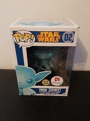 Star Wars Funko Pop Yoda Spirit Glows In The Dark Walgreens Exclusive #02