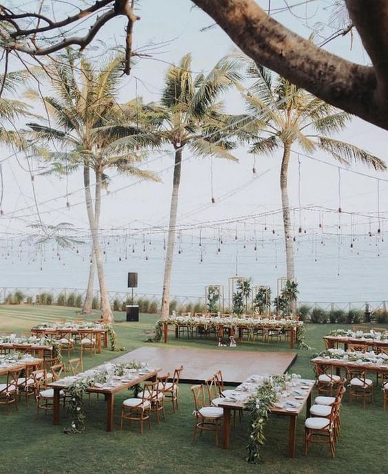 romantic beach wedding reception ideas #obde #weddingideas2019