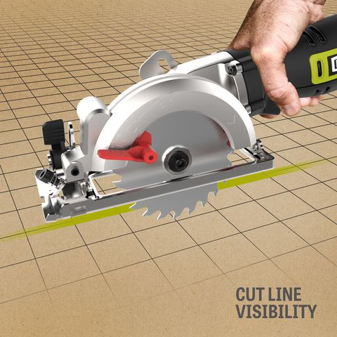 Rockwell 5 Amp 4 1 2 In Corded Circular Saw At Lowes Com With