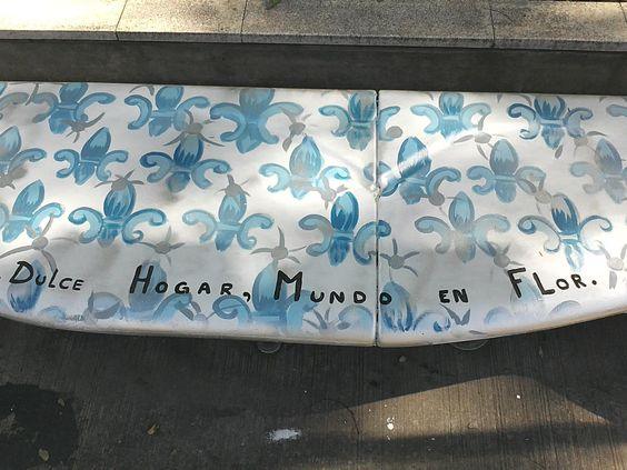 Bancarte: Banco de Fatima Onofri Plaza de la 9 de julio y viamonte
