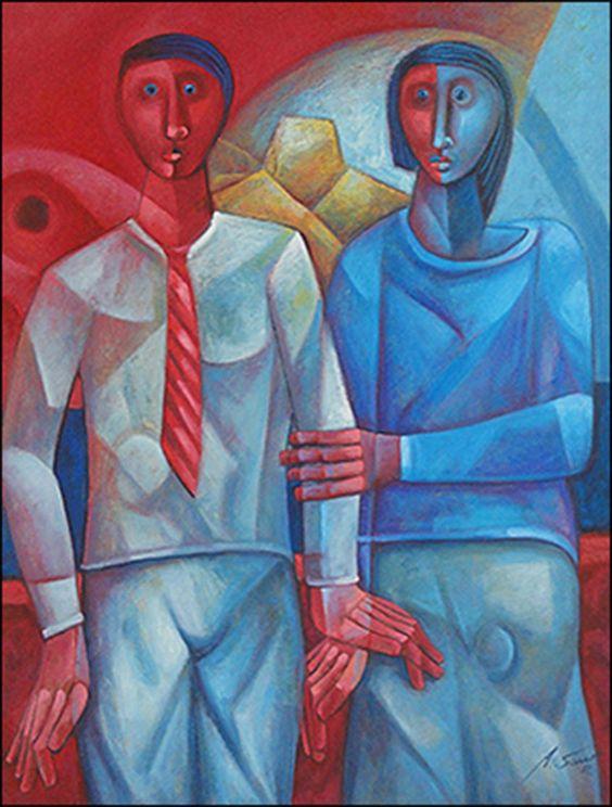 The Couple II by Adelio Sarro
