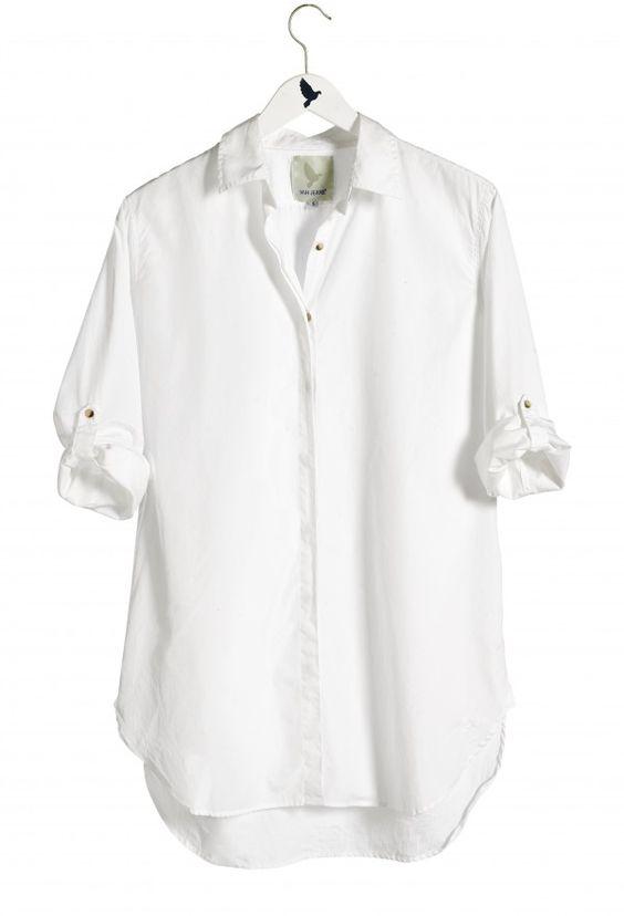 A beautiful white shirt-Source: Pinterest