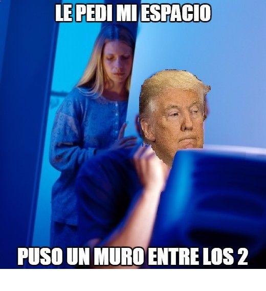 Memes Graciosos Facebook Trump Y Su Logica I Www Diverint Com Imagenesgraciosasdelosmemesenespanol Memeschistososimagenes Memesgraciososparacom