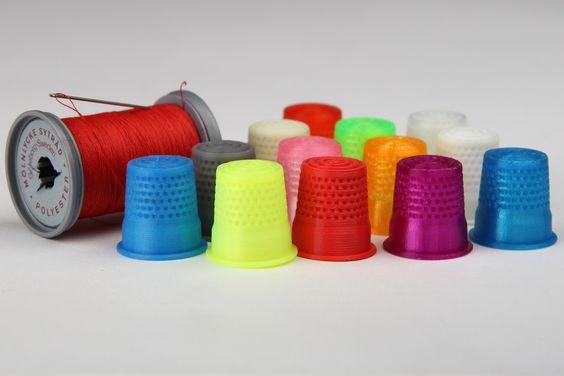 Así son los filamentos termoplásticos que se usan para imprimir en una impresora 3D #impresion3D #3Dprint #3Dprinting