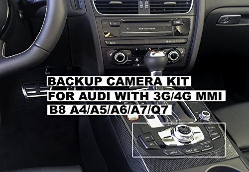 Cheap 2009 2016 B8 B8 5 Audi A4 Audi A5 Audi Q5 Allroad Avant With 3g 4g Mmi Radio Rear View Backup Camera Interface Kit Oem Replica Plug And Play Insta Audi A5 Backup