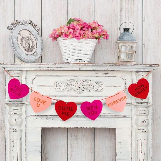 Valentines 2019 Decoration Garland Banner For Valentine'S Day Lovers Must Have! #Doesnotapply