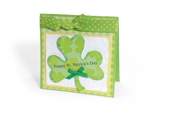 St. Patrick's Day Card - Scrapbook.com