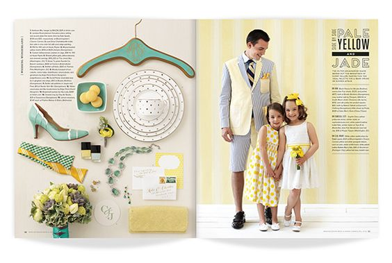 gallery bride groom magazine design direction