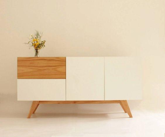 Comoda dise o escandinavo madera paraiso for Comodas diseno italiano