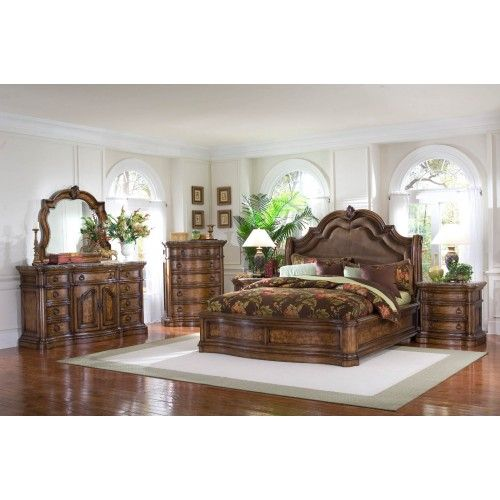 Pulaski San Mateo Sleigh Bedroom Set Special Sleigh Bedroom Set Bedroom Set Cheap Bedroom Furniture