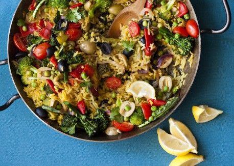 Paella Primavera | Vegetarian Times
