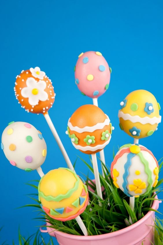 Easter Cake Pop Decorations : Kid s Party Food Ideas: Delicious & Darling Easter Cake ...