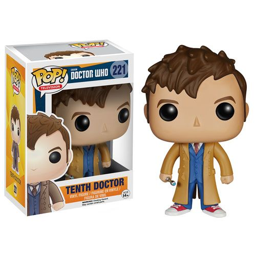 *PRE-ORDER Doctor Who Pop Vinyl Figure - Doctor Who 10th Doctor