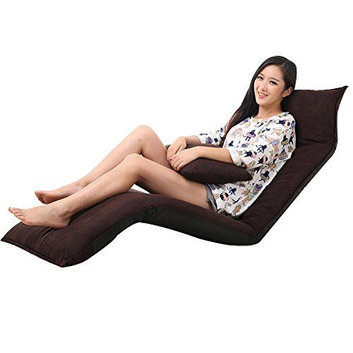Xue Lazy Sofa Adjustable No Legs Balcony Bedroom Folding Chair Bed Computer Chair Lazy Sofa Folding Chair Sofa Styling