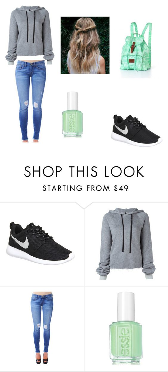 """Untitled #52"" by aussie262 on Polyvore featuring NIKE, Unravel and Essie"