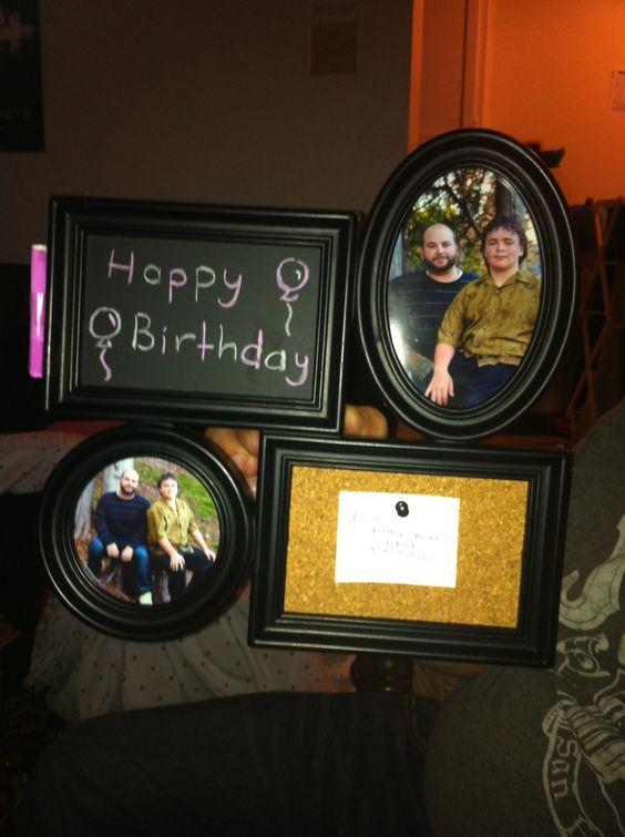 Birthday present! My own idea :)